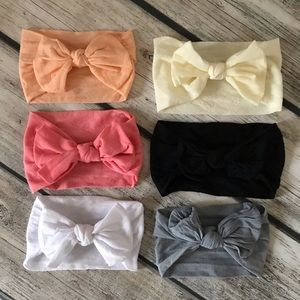 Other - Brand New Baby Toddler Girl Bow Headbands